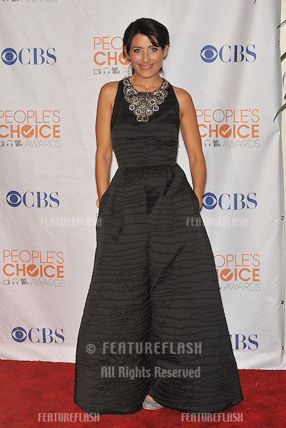 Lisa Edelstein at the 2010 People's Choice Awards at the Nokia Theatre L.A. Live in Los Angeles..January 6, 2010  Los Angeles, CA.Picture: Paul Smith / Featureflash