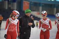 SCHAATSEN: HEERENVEEN: IJSSTADION THIALF: 08-11-2018, Marathontraining, ©foto Martin de Jong