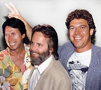 David Brenner Carl Wilson Joe Piscopo 1985<br /> Photo by Adam Scull/PHOTOlink