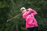 Hye Jung CHOI of South Korea tees off at the 14th hole during Round 1 of the World Ladies Championship 2016 on 10 March 2016 at Mission Hills Olazabal Golf Course in Dongguan, China. Photo by Victor Fraile / Power Sport Images