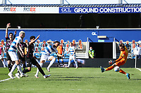 24th April 2021; The Kiyan Prince Foundation Stadium, London, England; English Football League Championship Football, Queen Park Rangers versus Norwich; Chris Willock of Queens Park Rangers scores but it is ruled offside