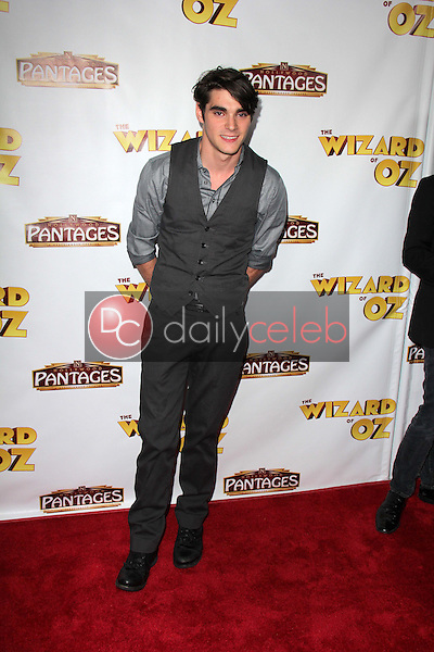 """RJ Mitte<br /> at """"The Wizard Of Oz"""" Los Angeles Premiere, Pantages Theater, Hollywood, CA 09-18-13<br /> David Edwards/DailyCeleb.Com 818-249-4998"""