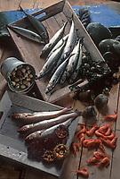 Cuisine/Gastronomie Generale: Poissons, Coquillages et crustacés