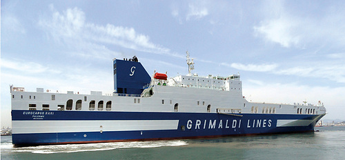 RoRo vessel 'Eurocargo Bari' which will operate on the service between Cork and Antwerp
