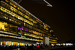 DUBAI,UNITED ARAB EMIRATES-MARCH 25: Stand at Meydan Racecourse on March 25,2017 in Dubai,United Arab Emirates (Photo by Kaz Ishida/Eclipse Sportswire/Getty Images)