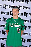 Nate Mills (12) of Carlsbad High School in Carlsbad, California during the Baseball Factory All-America Pre-Season Tournament, powered by Under Armour, on January 12, 2018 at Sloan Park Complex in Mesa, Arizona.  (Mike Janes/Four Seam Images)