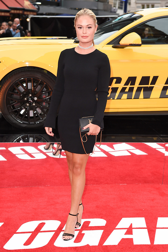 "Ella Willis<br /> attending the premiere of ""Logan Lucky"" at the Vue West End, Leicester Square, London. <br /> <br /> <br /> ©Ash Knotek  D3295  21/08/2017"