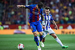 Andre Gomes of FC Barcelona and Ibai Gomez of Club Deportivo Alaves during the match of  Copa del Rey (King's Cup) Final between Deportivo Alaves and FC Barcelona at Vicente Calderon Stadium in Madrid, May 27, 2017. Spain.. (ALTERPHOTOS/Rodrigo Jimenez)