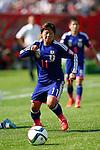 Shinobu Ono (JPN), JULY 1, 2015 - Football / Soccer : FIFA Women's World Cup Canada 2015 Semi-final match between Japan 2-1 England at Commonwealth Stadium in Edmonton, Canada. (Photo by AFLO)