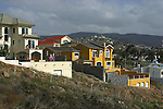 Mexico homes on a hill