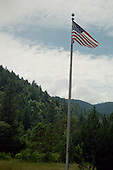 Old Glory in the Cascades