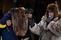 Fur Rondy Fur Auction, Anchorage, Alaska.