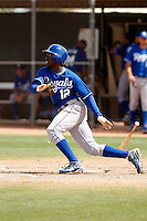 Derrick Robinson   - Kansas City Royals - 2009 spring training.Photo by:  Bill Mitchell/Four Seam Images