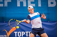 Amstelveen, Netherlands, 1 August 2020, NTC, National Tennis Center, National Tennis Championships, Men's final: Jesper de Jong (NED).<br /> Photo: Henk Koster/tennisimages.com