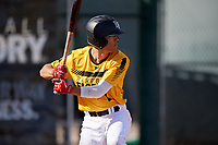 Cole Roberts during the Under Armour All-America Pre-Season Tournament, powered by Baseball Factory, on January 19, 2019 at Sloan Park in Mesa, Arizona.  Cole Roberts is a shortstop from Cardiff, California who attends Santa Fe Christian Schools and is committed to LMU.  (Mike Janes/Four Seam Images)