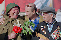 Saint Petersburg, Russia, 09/07/2002..Parades and celebrations mark Victory Day in memory of World War 2, known in Russia as The Great Patriotic War..