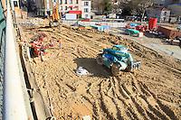 Visite de la ligne 15 sud du grand Paris Cachan 2/03/17