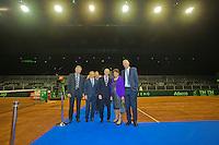 September 10, 2014,Netherlands, Amsterdam, Ziggo Dome, Davis Cup Netherlands-Croatia, Official Diner<br /> Photo: Tennisimages/Henk Koster