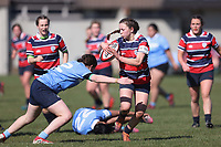 Action from Miles Toyota Girls 1st XV Cup Competition Grand Final between Villa Maria College and Christchurch Girls High School at Rugby Park in Christchurch, New Zealand on Saturday, 18 September 2021. Photo: Martin Hunter / lintottphoto.co.nz