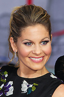 """HOLLYWOOD, LOS ANGELES, CA, USA - MARCH 11: Candace Cameron Bure at the World Premiere Of Disney's """"Muppets Most Wanted"""" held at the El Capitan Theatre on March 11, 2014 in Hollywood, Los Angeles, California, United States. (Photo by Xavier Collin/Celebrity Monitor)"""