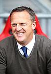 Nederland, Enschede, 26 april  2015<br /> Eredivisie<br /> Seizoen 2014-2015<br /> FC Twente-AZ<br /> John van den Brom, trainer-coach van AZ