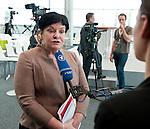 Berlin-Germany - May 18, 2014 -- International Trade Union Confederation - 3rd ITUC World Congress 'Building Workers' Power'; here, Sharan Burrow, ITUC-General Secretary  -- Photo: © HorstWagner.eu / ITUC
