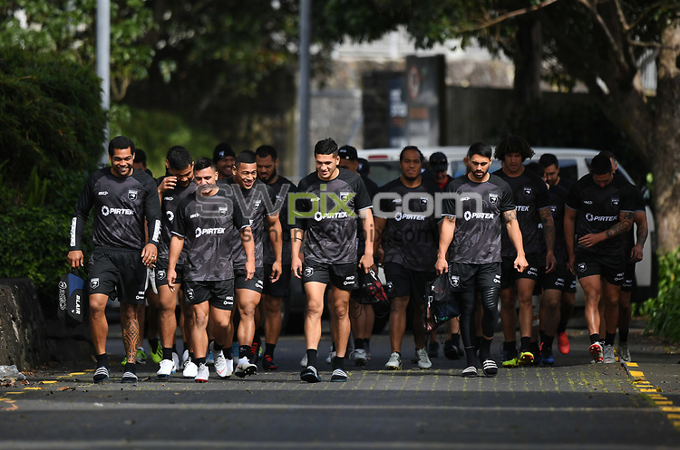 Kiwis Rugby League training at Mt Smart Stadium ahead of the upcoming test match against the Australian Kangaroos this weekend. Auckland, New Zealand. Monday 8 October 2018. © Copyright photo: Andrew Cornaga / www.photosport.nz