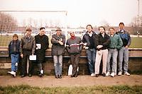 Barking fans are seen at Mayesbrook Park - circa 1987 - MANDATORY CREDIT: Gavin Ellis/TGSPHOTO - Self billing applies where appropriate - Tel: 0845 094 6026
