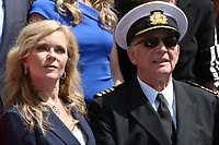 LOS ANGELES - MAY 10:  Jill Whelan, Gavin MacLeod at the Princess Cruises Receive Honorary Star Plaque as Friend of the Hollywood Walk Of Fame at Dolby Theater on May 10, 2018 in Los Angeles, CA