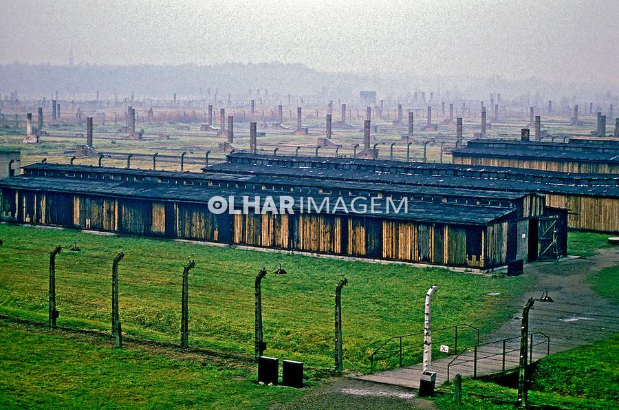 Campo de concentração Auschwitz. Polônia. 1994. Foto de João Caldas.