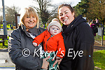 Enjoying the playground in the Tralee town park on Friday, l to r: Marie Baker, Oisin Ennis and Laura Baker.