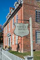 Historic Warner House, Portsmouth, New Hampshire, USA. c. 1716