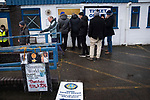 Macclesfield Town 1 Grimsby Town 1, 26/12/2019. Moss Rose, English League 2. An exterior view of the ground before Macclesfield Town played Grimsby Town in a SkyBet League 2 fixture at Moss Rose. The home club had suffered problems in the run up to this fixture with the EFL deducting points after they failed to pay staff and they had a game postponed. This match ended in a 1-1 draw, watched by a crowd of 1,991. Photo by Colin McPherson.