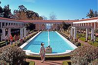 Malibu CA: J. Paul Getty Museum, 1972-73. Photo '86.