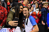 Vancouver, Canada - Thursday November 09, 2017: Andi Sullivan during an International friendly match between the Women's National teams of the United States (USA) and Canada (CAN) at BC Place.