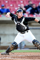 Ryan Jenkins (23) of the Kane County Cougars during a game against the Clinton LumberKings at Elfstrom Stadium on April 23, 2011 in Geneva, Illinois. Photo by Chris Proctor/Four Seam Images