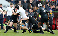 Monday 18th March 2019 | 2019 Schools Cup Final<br /> <br /> Ben Gourley during the 2019 Ulster Schools Cup Final between MCB and CCB at Ravenhill Park, Belfast, Northern Ireland. Photo by John Dickson / DICKSONDIGITAL