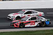 #95: Christopher Bell, Leavine Family Racing, Rheem/Watts Toyota Camry, #6: Ryan Newman, Roush Fenway Racing, Guaranteed Rate Ford Mustang