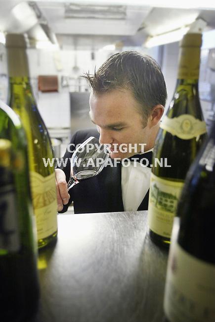 Arnhem, 231003<br />David Boersma, restaurateur in Groot Warnsborn te Arnhem.<br />Foto: Sjef Prins - APA Foto