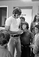 Guy Lafleur, le  8 septembre 1971<br /> <br /> Photographe : Photo Moderne<br /> - agence Quebec Presse