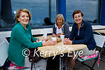 Enjoying a chat and the outdoor dining at the Marina Hotel in Ballybunion on Sunday, l to r: Claire McCarthy, Arja Beasley and Mary Kelly.