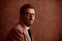 Pietrangelo Buttafuoco (Catania, 2 settembre 1963) è un giornalista e scrittore italiano. Pordenonelegge 18 settembre 2016.Photo by Leonardo Cendamo/Getty Images