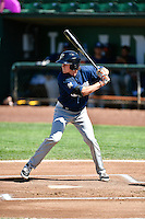 Trever Morrison (13) of the Helena Brewers at bat against the Ogden Raptors in Pioneer League action at Lindquist Field on July 16, 2016 in Ogden, Utah. Ogden defeated Helena 5-4. (Stephen Smith/Four Seam Images)
