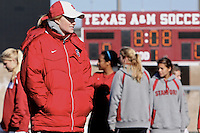 COLLEGE STATION, TX - DECEMBER 3:  Theresa Wagner of the Stanford Cardinal during Stanford's trip to the NCAA Women's Soccer Championships on December 3, 2009 in College Station, Texas.