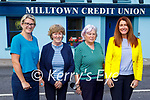At the Miltown Credit Union on Thursday, l to r: Mary T Murphy, Aileen Quirke, Beatrice Sheehy and Tracey Bulger.