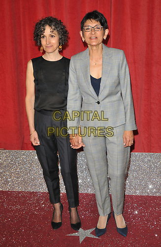 Trilby James and Shelley King at the British Soap Awards 2019, The Lowry Theatre, Pier 8, The Quays, Media City, Salford, Manchester, England, UK, on Saturday 01st June 2019.<br /> CAP/CAN<br /> ©CAN/Capital Pictures