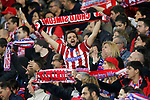 Atletico de Madrid's supporters during Champions League 2016/2017 Round of 16 2nd leg match. March 15,2017. (ALTERPHOTOS/Acero)
