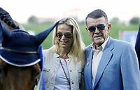 2017 03 16 Shipping magnate Minos Kyriakou and wife Mari Konstantatou, Greece