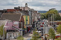 Pictured: A general view of B4290 in Swansea city centre, Wales, UK.  Friday 12 July 2019 <br /> Re: General view of Swansea city centre, Wales, UK.