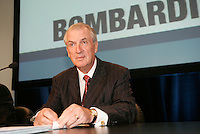June 7 2005, Montreal (Qc) CANADA<br /> Laurent Beaudoin, Chairman of the Board and Chief Executive Officer<br /> Bombardier Inc. at Bombardier Annual Meeting in Montreal, June 7 2005<br /> <br /> Born in 1938, he has been with Bombardier since 1963<br /> <br /> Photo : (c) byIMAGES DISTRIBUTION